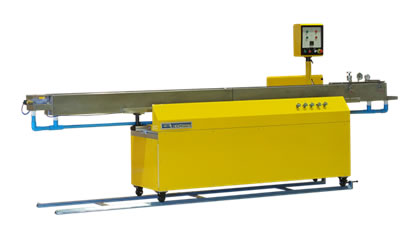 4.0 meter length stainless steel vacuum sizing / cooling & calibration
