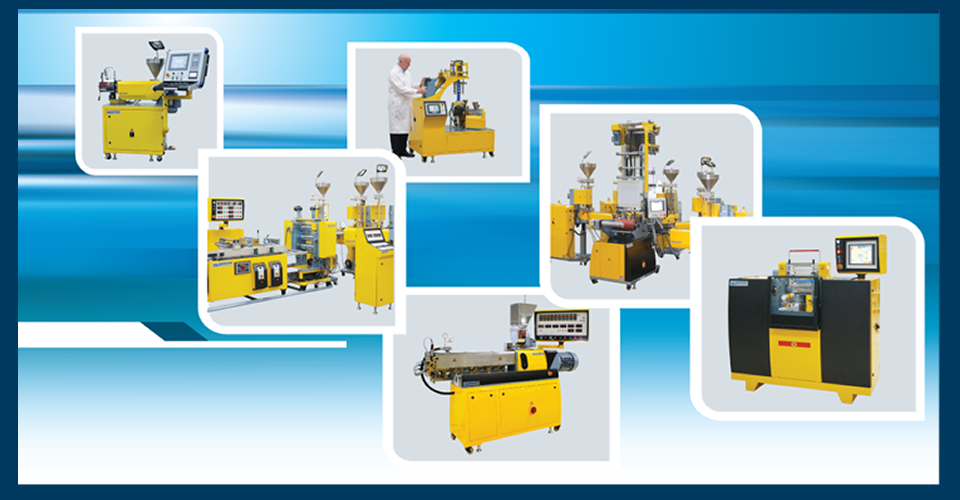 polymer processing machines for lab and plant applications