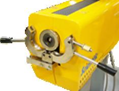 C-clamp for single screw extuders